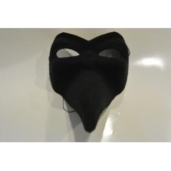 masque long noir