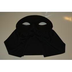 masque bavette noir