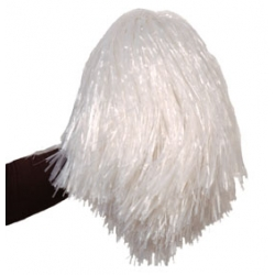Pompom blanc