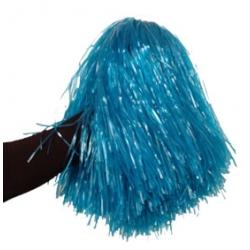 Pompom bleu
