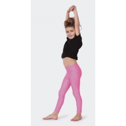 Leggings rose enfant