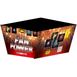 Batterie d'artifice Fan Power 500gr