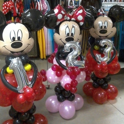 Montage minnie mickey