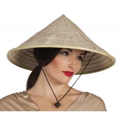 Chapeau paille chinois