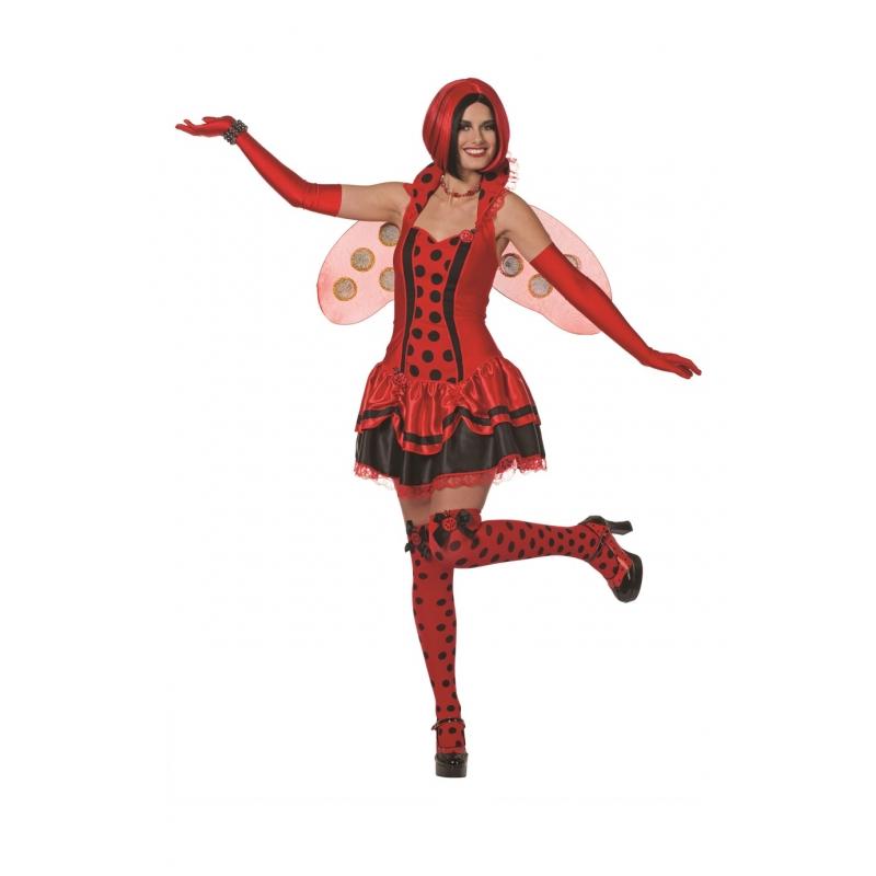 Costume de coccinelle adulte