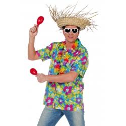 chemise hawai orange