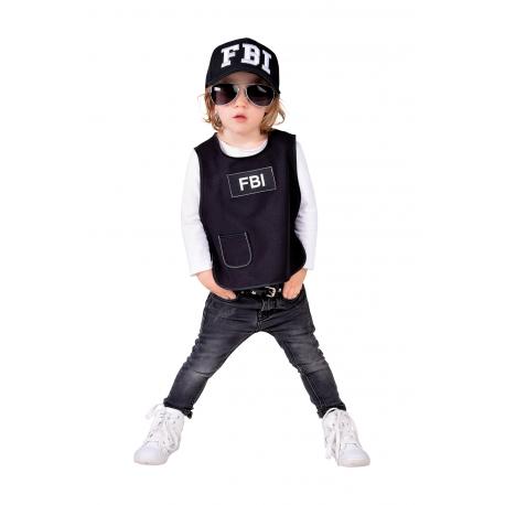 gilet fbi enfant