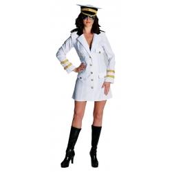Déguisement  dame officier marine