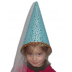 Chapeau de fée bleu