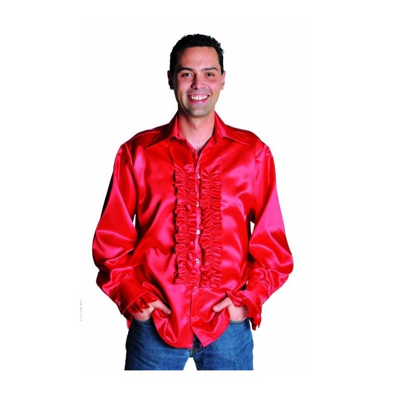 chemise disco homme rouge festival center. Black Bedroom Furniture Sets. Home Design Ideas