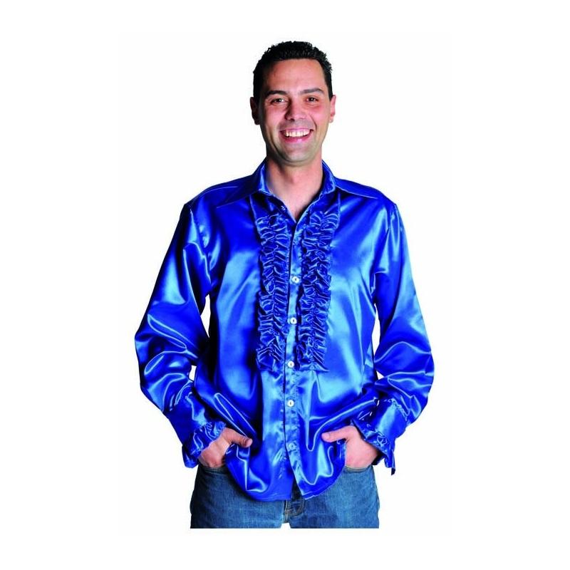 chemise disco homme bleu festival center. Black Bedroom Furniture Sets. Home Design Ideas