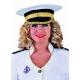 casquette officier marine dame