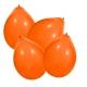 Ballons orange par 100