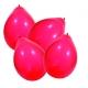 Ballons par 100 rouge