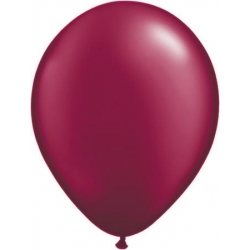 Ballon bordeaux par 100