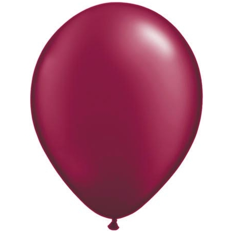 Ballon bordeaux par 100