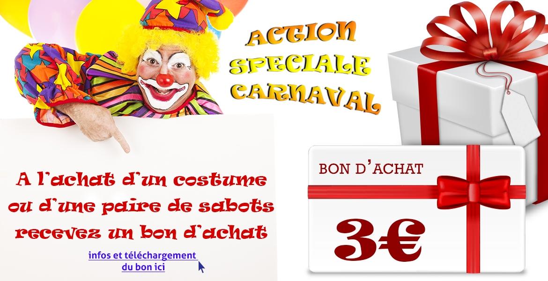 Action spéciale Carnaval