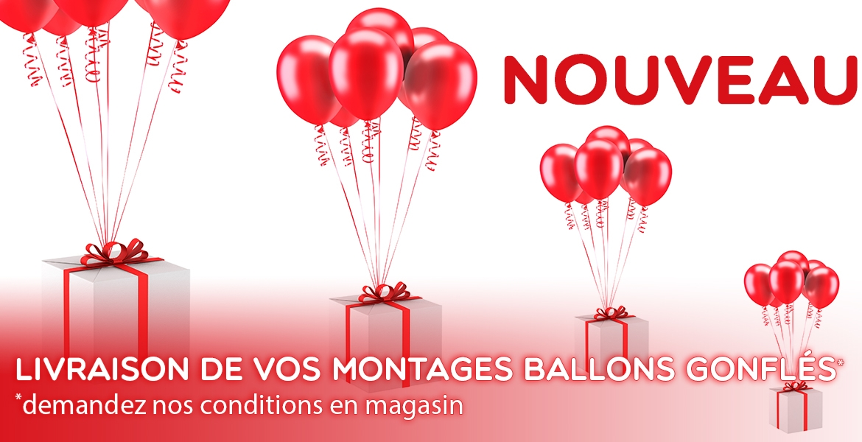 Nouveau , Livraison Ballon gonflés