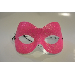 masque paillette rose
