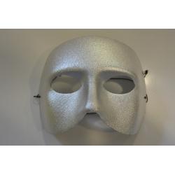 demi masque argent