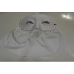 masque bavette blanc