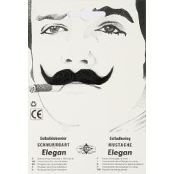 Moustache elgan noire
