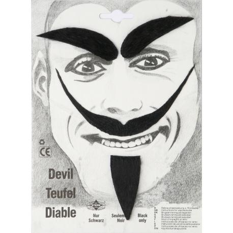 moustache kit diable