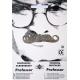 Moustache professeur grise