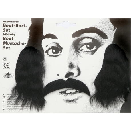 Moustache beat set