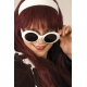 Lunettes jackie blanche