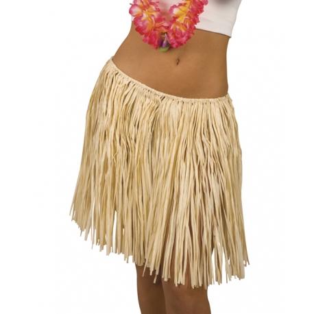 Jupe hawai en paille