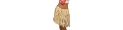 Jupe hawaii en paille