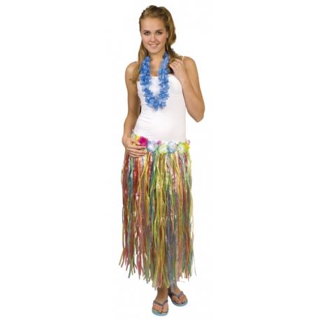 jupe hawaii à fleur multis