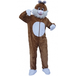 Mascotteascott lapin brun