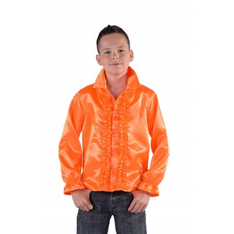 Chemise disco orange enfant
