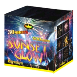 Batterie d'artifice Sunset glow 500gr