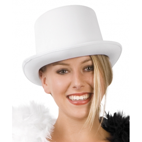 Chapeau buse blanc