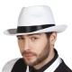 Chapeau borcalino blanc