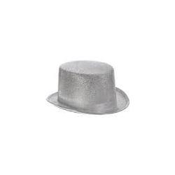 Chapeau buse argenté