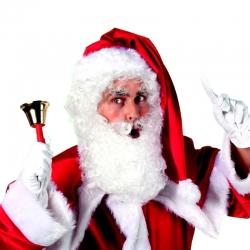 Perruque et barbe Père Noël