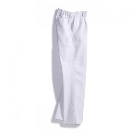 Pantalon blanc paysan