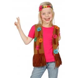 gilet + bandeau hippie