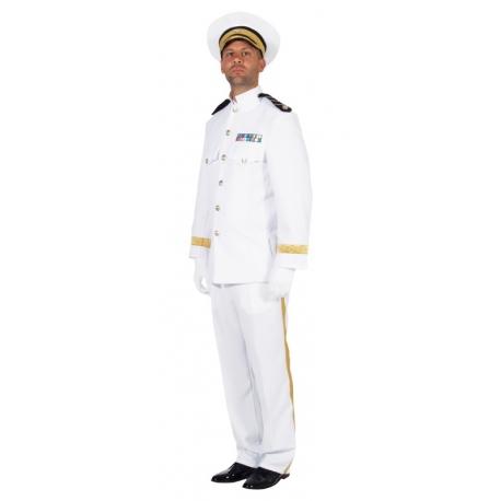 Déguisement d'officier de marine
