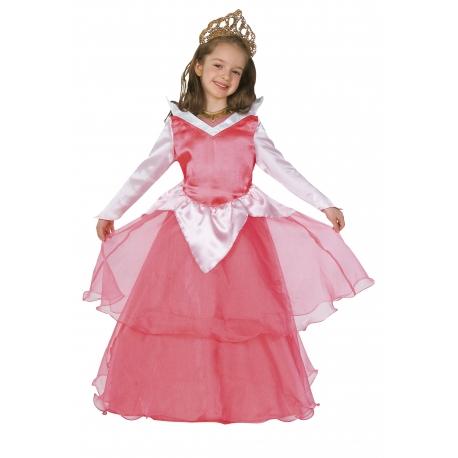 Déguisement de princesse rose