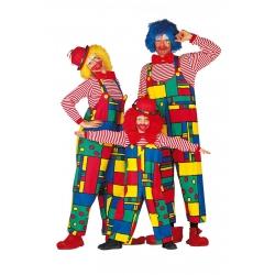 salopette clown femme