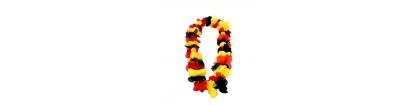 Collier Hawaï tricolore Belgique