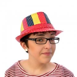 Chapeau paillette belge