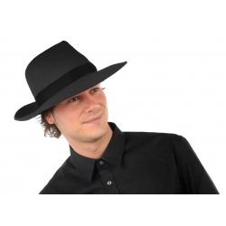 Chapeau borcalino luxe noir