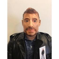 Masque johnny halliday
