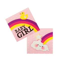 Serviette baby girl